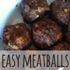 Easy Meatballs