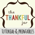 The Thankful Jar Tutorial & Printables