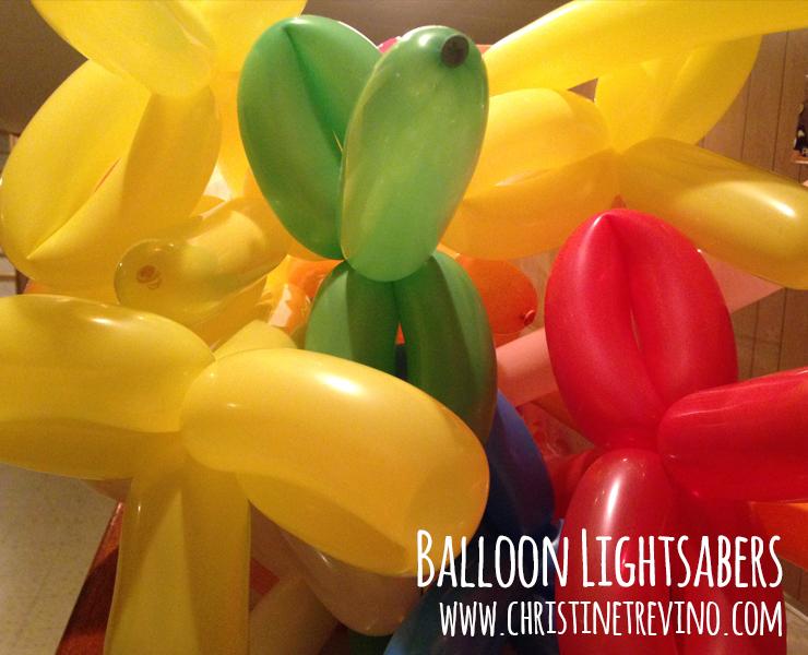 Lightsaber Balloons