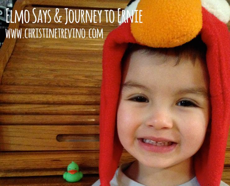 Journey to Ernie & Elmo Says