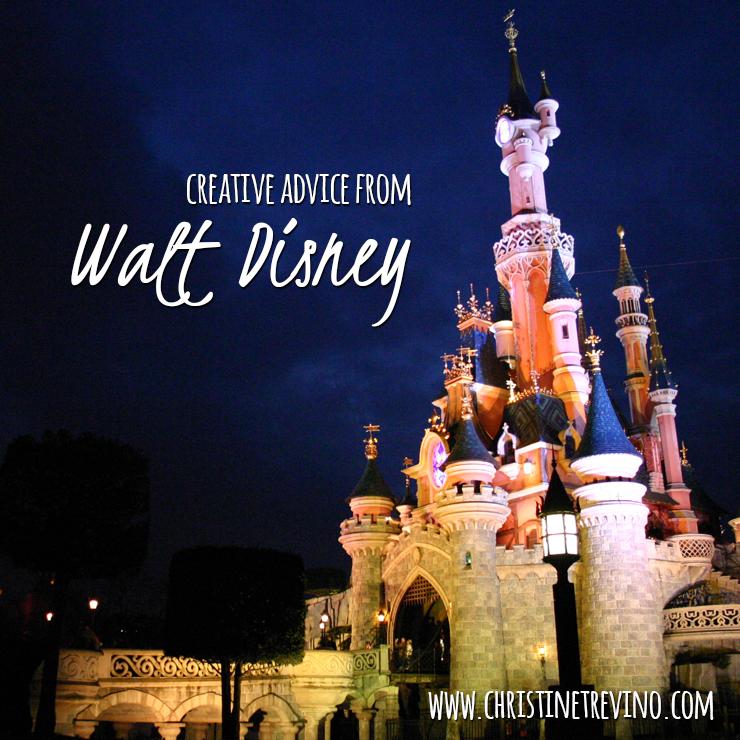Creative Advice from Walt Disney