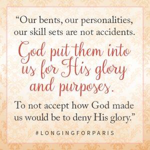 Longing for Paris Purposes