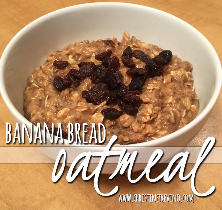 Banana Bread Oatmeal