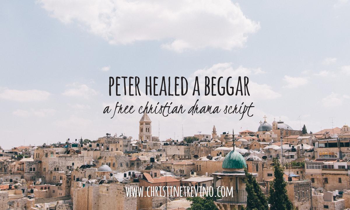 Peter Healed a Beggar